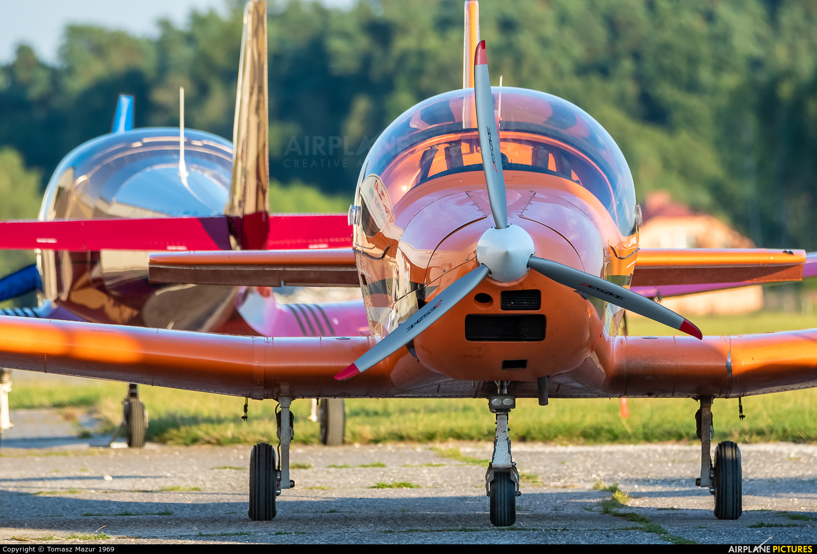 Private OK-OUU51 aircraft at Rybnik - Gotartowice