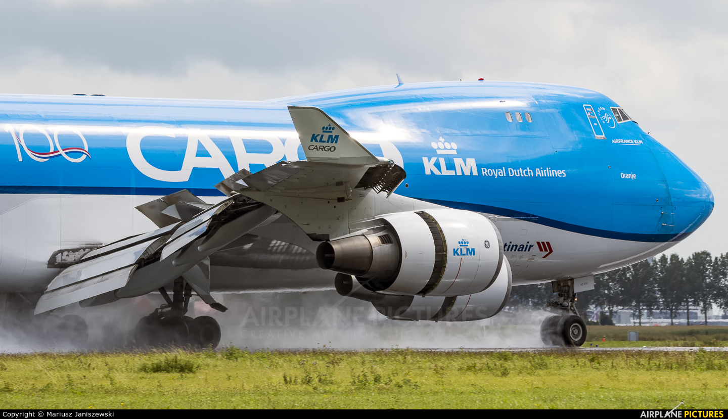 KLM Cargo PH-CKC aircraft at Amsterdam - Schiphol