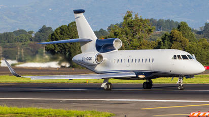 LV-GQK - Private Dassault Falcon 900 series