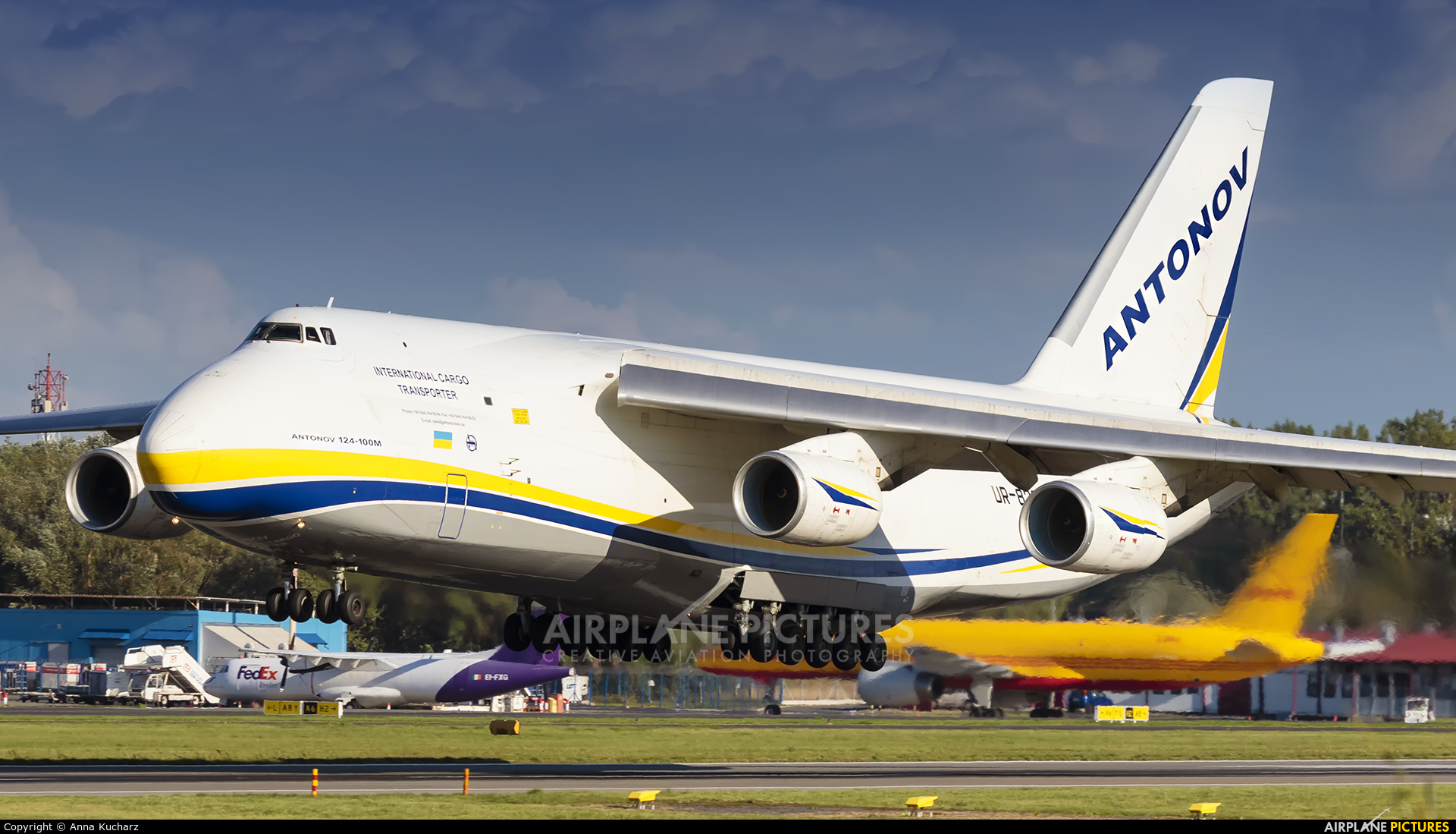 Antonov Airlines /  Design Bureau UR-82007 aircraft at Warsaw - Frederic Chopin