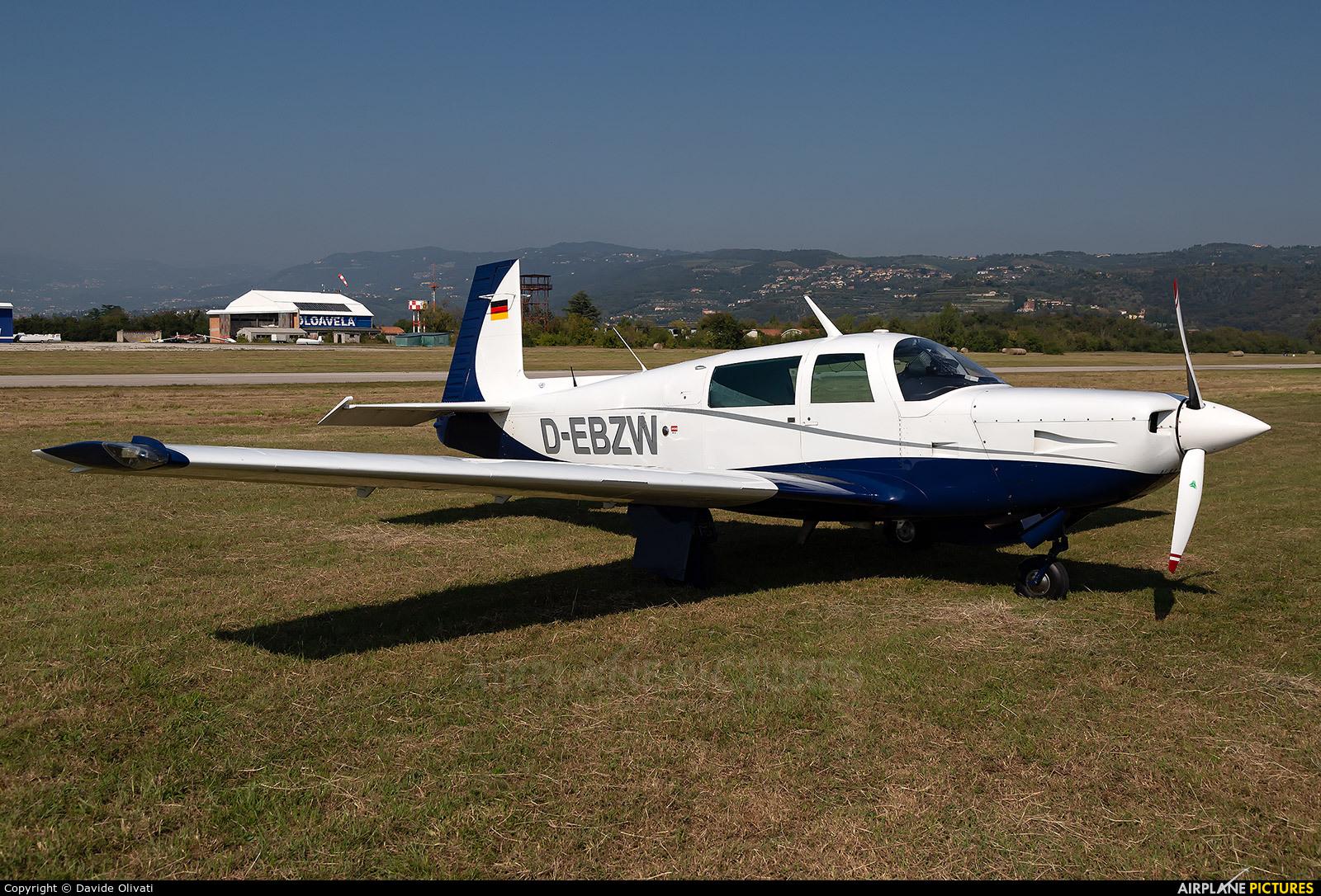 Private D-EBZW aircraft at Verona - Boscomantico