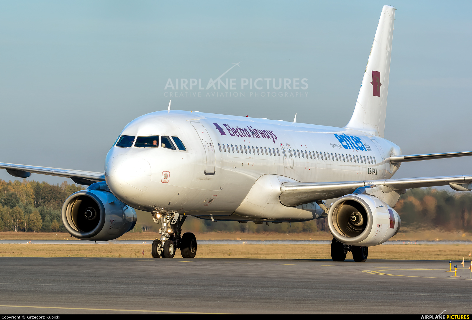 Electra Airways LZ-EAA aircraft at Katowice - Pyrzowice