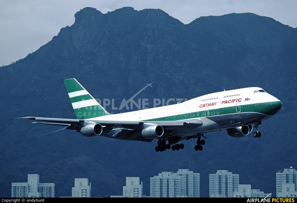 Cathay Pacific VR-HII aircraft at HKG - Kai Tak Intl CLOSED