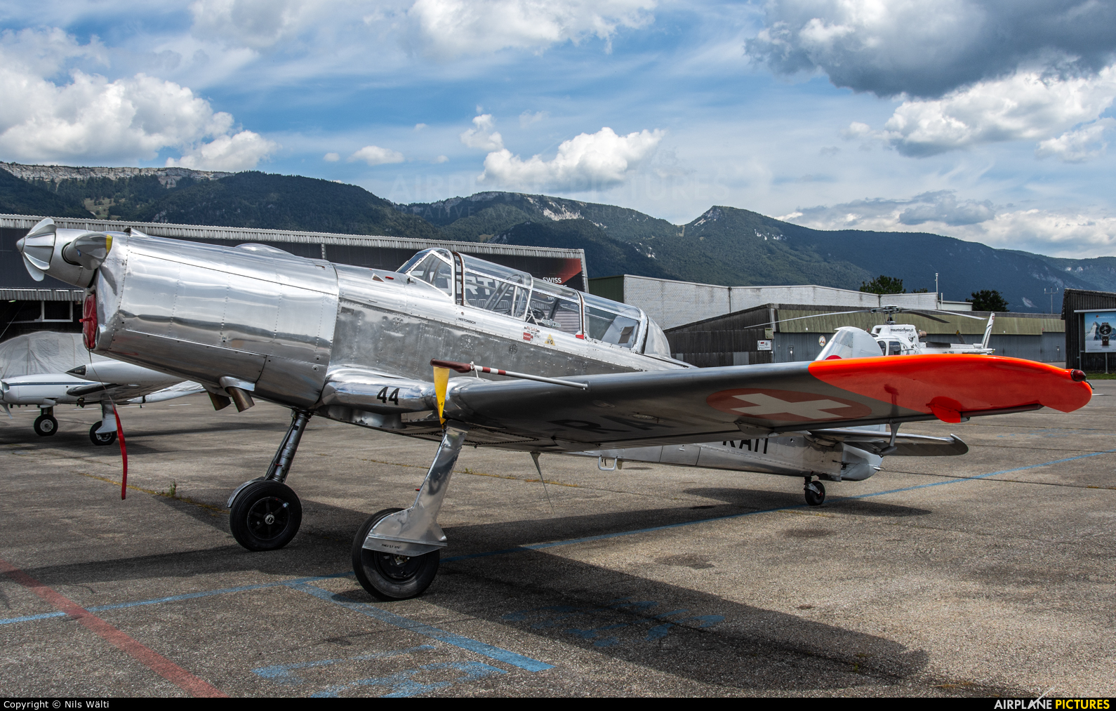 Private HB-RAM aircraft at Grenchen
