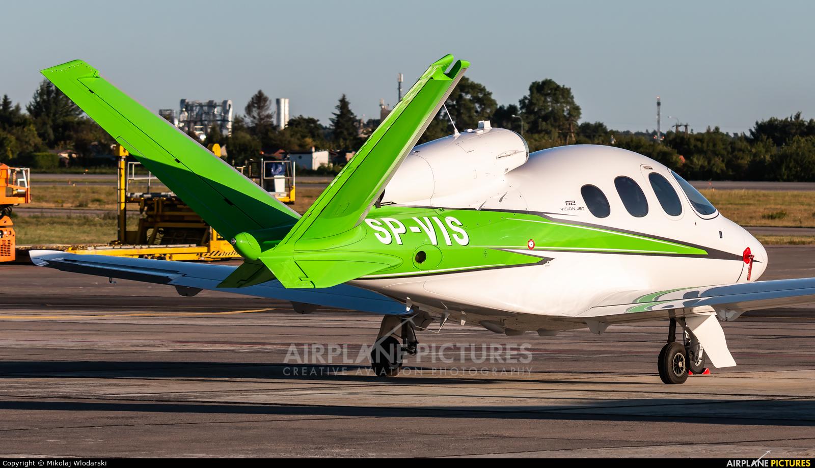 Cirrus Aircraft Poland & Baltics SP-VIS aircraft at Gdańsk - Lech Wałęsa