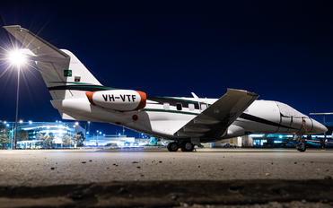 VH-VTF - Private Pilatus PC-24