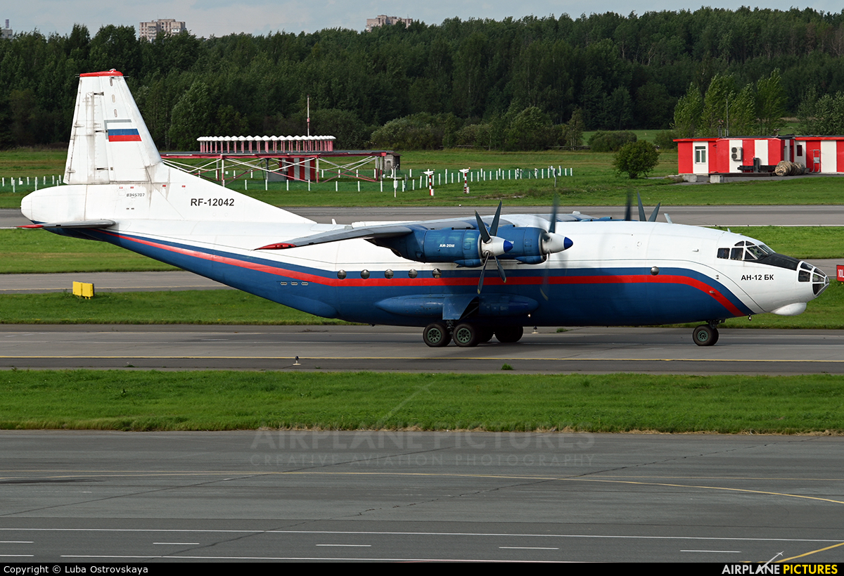 Russia - Ministry of Internal Affairs RF-12042 aircraft at St. Petersburg - Pulkovo