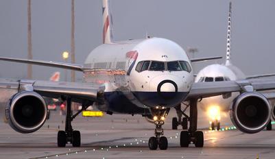 G-CPEL - British Airways Boeing 757-200
