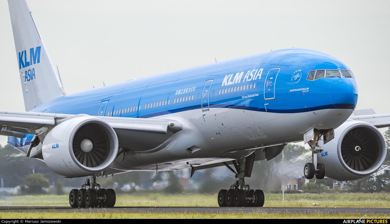 KLM Asia PH-BQN aircraft at Amsterdam - Schiphol