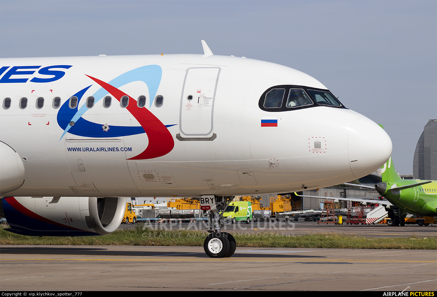 Ural Airlines VP-BRY aircraft at Moscow - Domodedovo