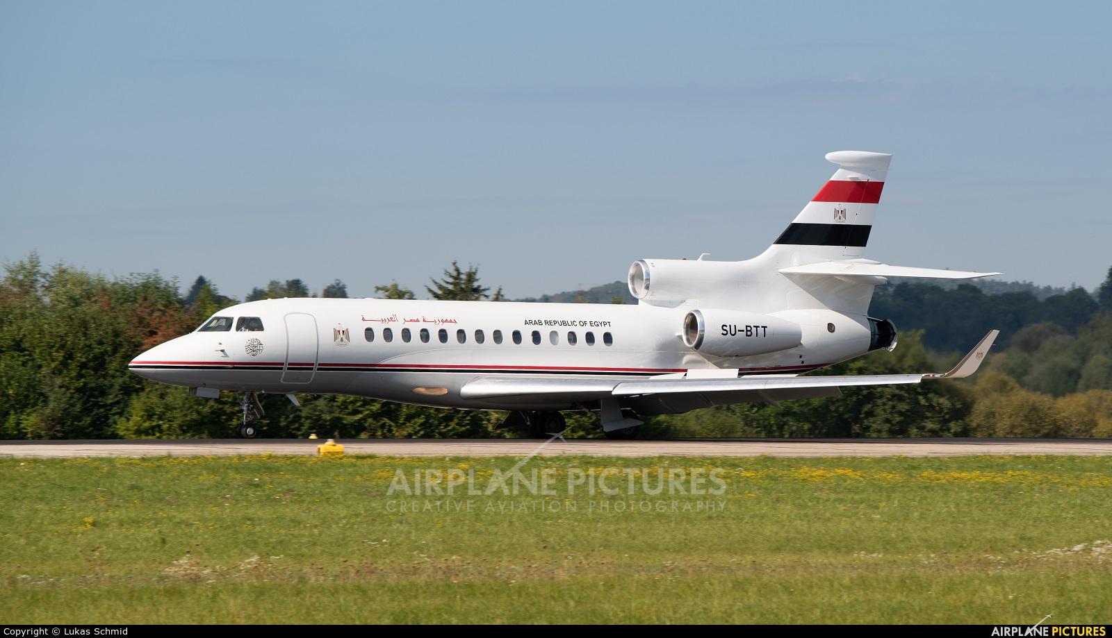 Egypt - Government SU-BTT aircraft at Zurich