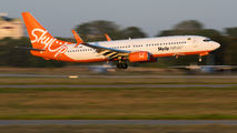 UR-SQG - SkyUp Airlines Boeing 737-800 aircraft