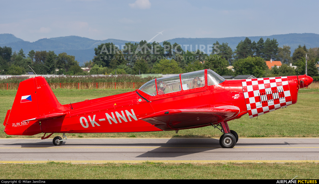 Aeroklub Luhačovice OK-NNN aircraft at Prievidza
