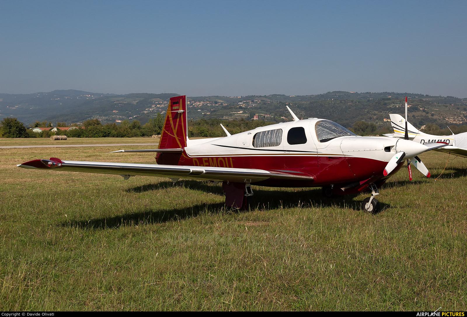 Private D-EMOU aircraft at Verona - Boscomantico