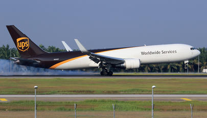 N314UP - UPS - United Parcel Service Boeing 767-300F