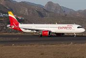 EC-NIA - Iberia Express Airbus A321 NEO aircraft