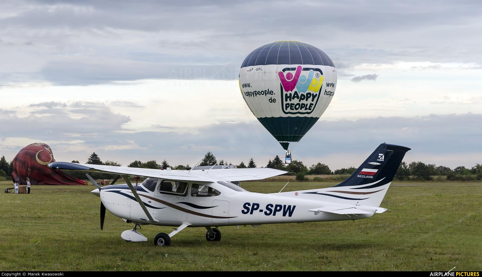 Private SP-SPW aircraft at Piotrków Trybunalski