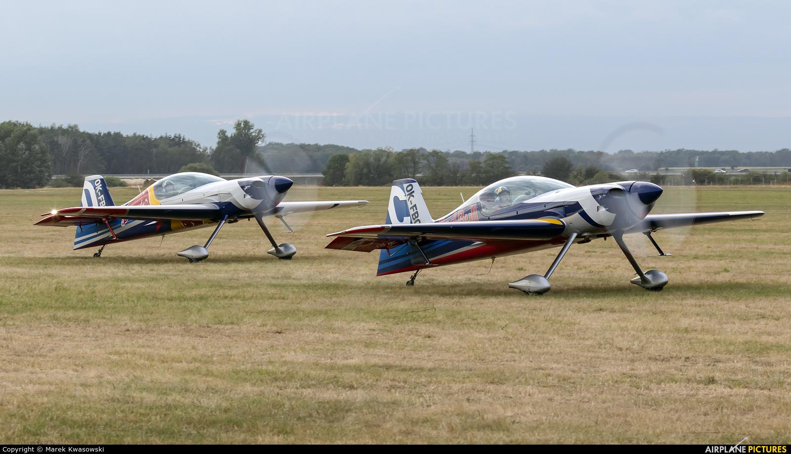The Flying Bulls : Aerobatics Team OK-FBC aircraft at Leszno - Strzyżewice
