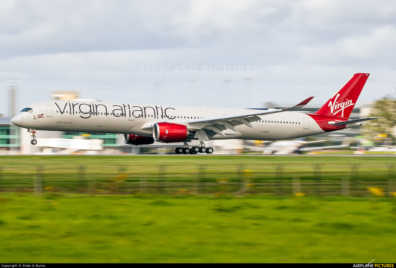 Virgin Atlantic G-VDOT aircraft at Manchester