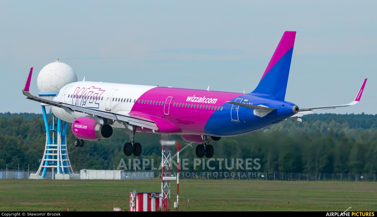 Wizz Air HA-LXJ aircraft at Katowice - Pyrzowice