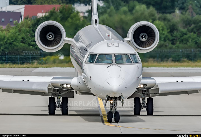 Lufthansa Regional - CityLine D-ACNH aircraft at Kraków - John Paul II Intl