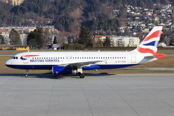 G-TTOB - British Airways Airbus A320