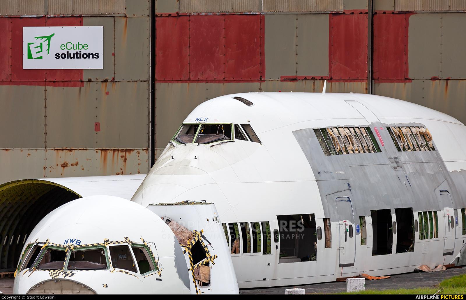 British Airways G-BNLX aircraft at St Athan