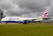 G-CIVZ - British Airways Boeing 747-400 aircraft