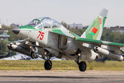 75-RED - Belarus - Air Force Yakovlev Yak-130 aircraft