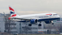 G-TTNK - British Airways Airbus A320 NEO aircraft