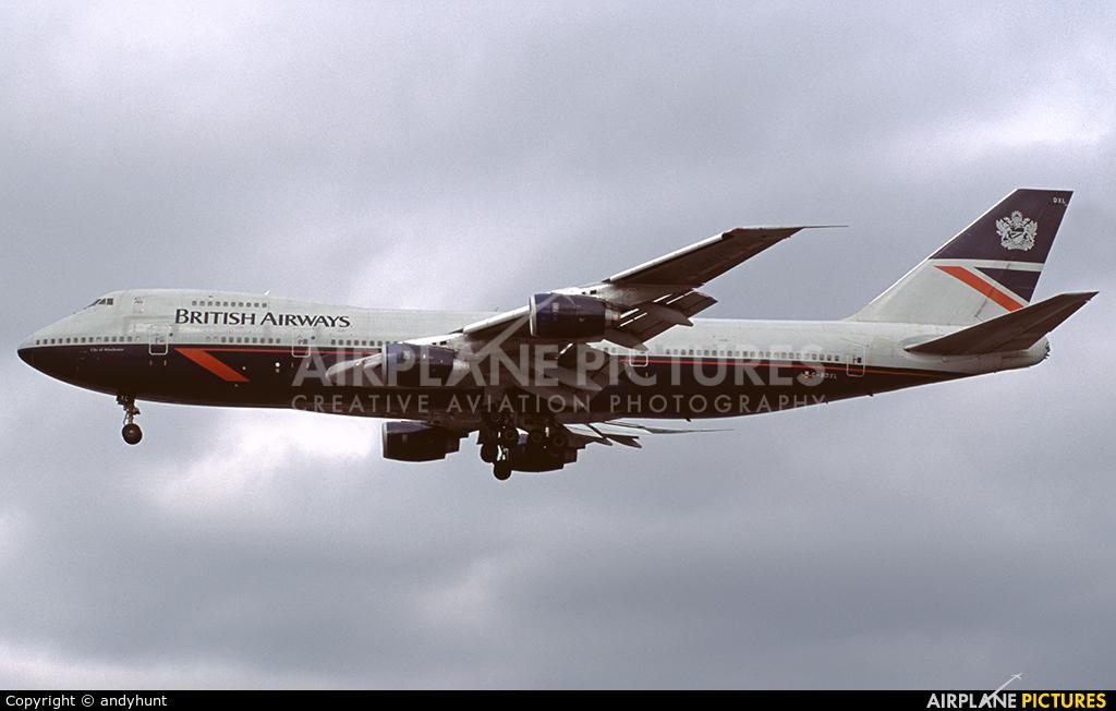 British Airways G-BDXL aircraft at London - Heathrow