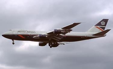 G-BDXL - British Airways Boeing 747-200