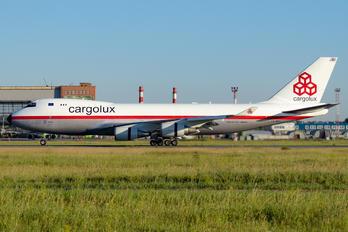 LX-NCL - Cargolux Boeing 747-400F, ERF