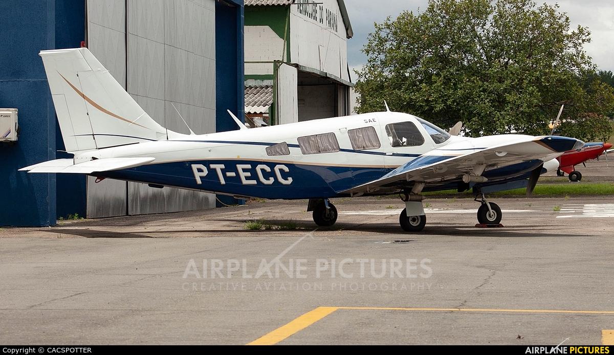 Private PT-ECC aircraft at Curitiba - Bacacheri