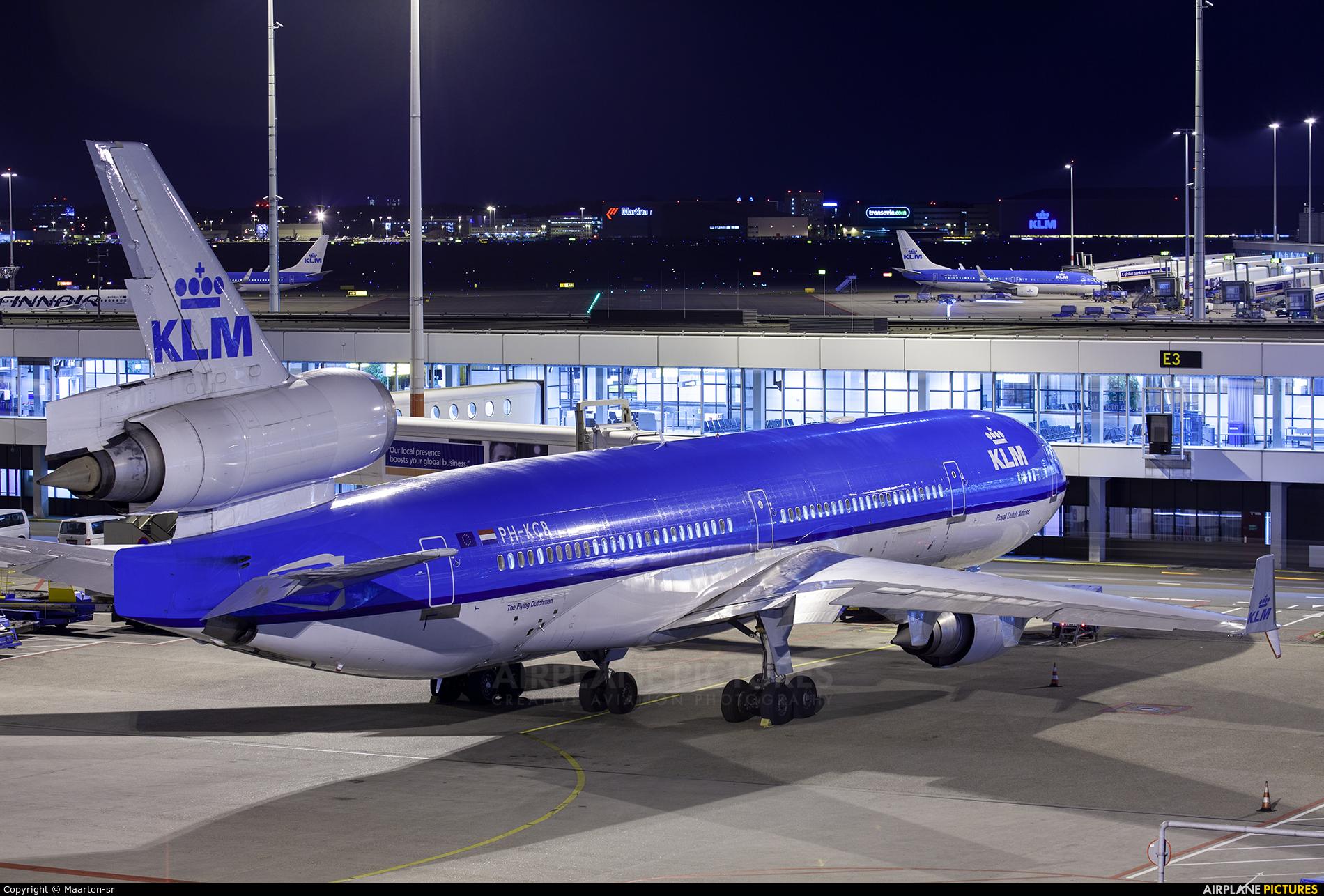 KLM PH-KCB aircraft at Amsterdam - Schiphol