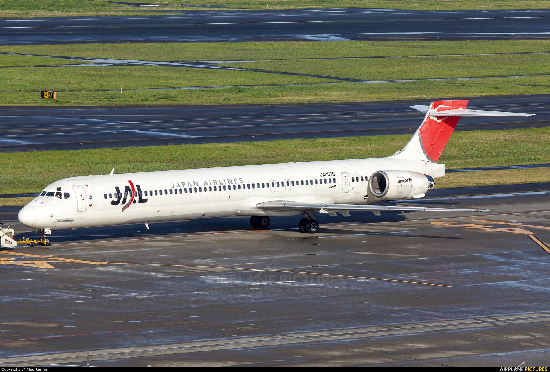 JAL - Japan Airlines JA003D aircraft at Tokyo - Haneda Intl