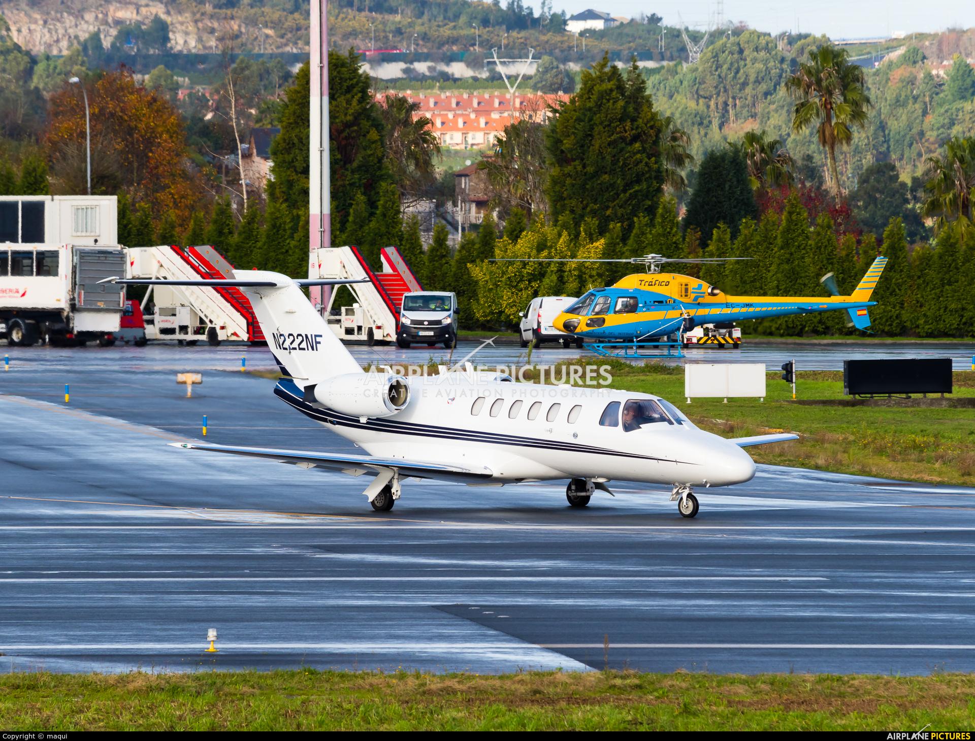 Merak Aviation N222NF aircraft at La Coruña