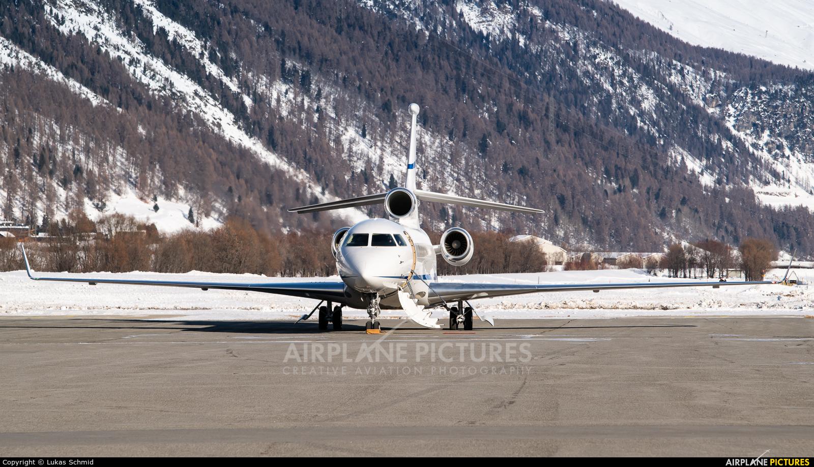 Private N999PN aircraft at Samedan - Engadin