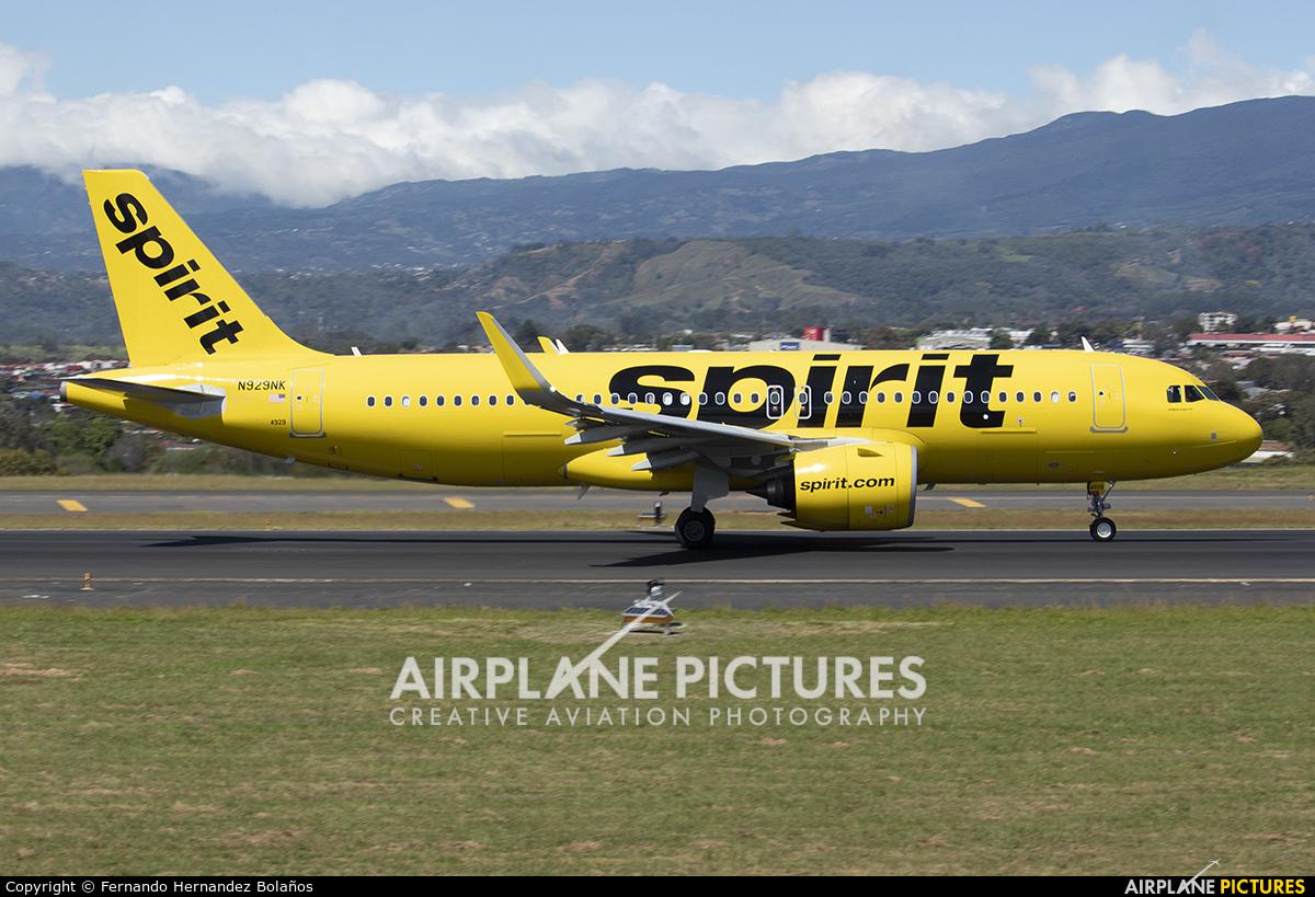 Spirit Airlines N929NK aircraft at San Jose - Juan Santamaría Intl