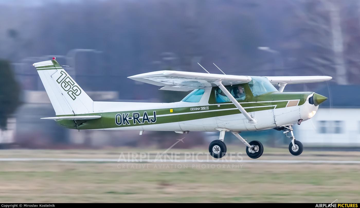 Private OK-RAJ aircraft at Ostrava Mošnov