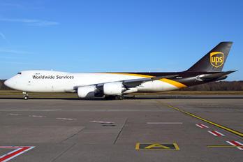 N615UP - UPS - United Parcel Service Boeing 747-8F
