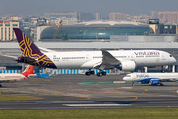 VT-TSD - Vistara Boeing 787-9 Dreamliner