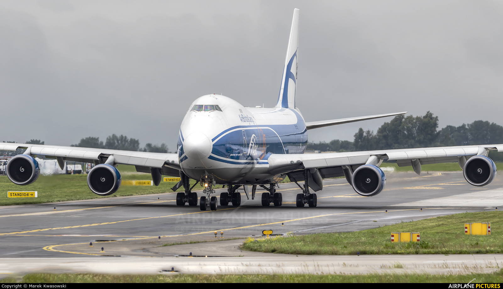 Air Bridge Cargo VQ-BUU aircraft at Warsaw - Frederic Chopin