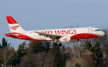 VP-BWY - Red Wings Airbus A320