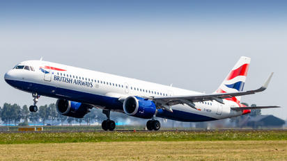 G-NEOP - British Airways Airbus A321 NEO