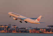 JA742J - JAL - Japan Airlines Boeing 777-300ER aircraft