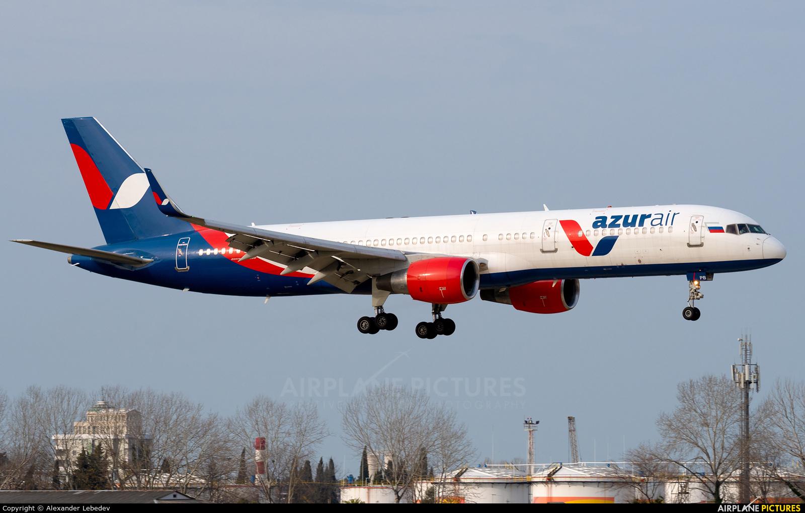 AzurAir VP-BPB aircraft at Sochi Intl