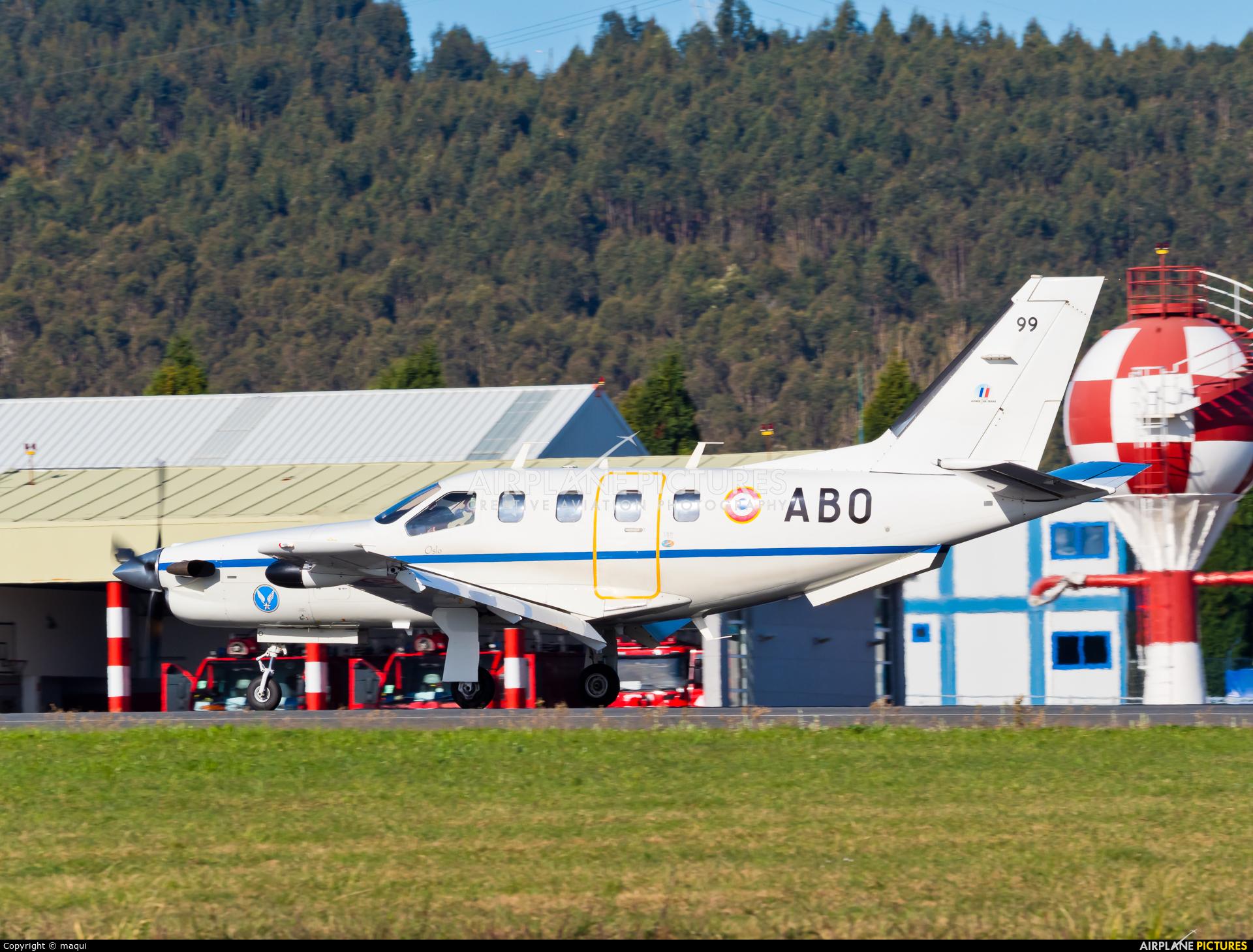 France - Army 99 aircraft at La Coruña
