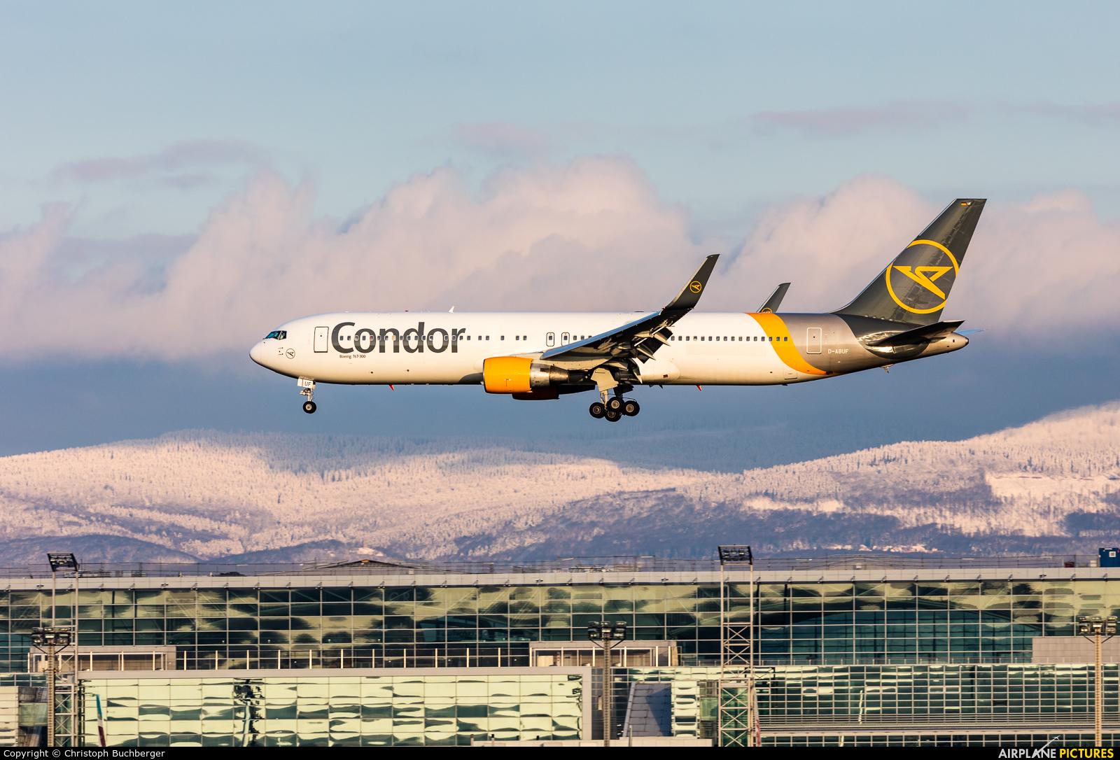 Condor D-ABUF aircraft at Frankfurt