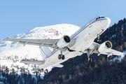 K5 Aviation Airbus A319CJ visited Samedan title=